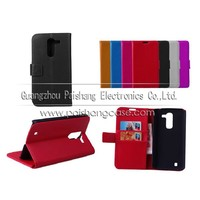 Wallet flip leather case for LG Optimus G Pro 2
