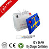 12V 66AH lead acid dry charged car battery with best price