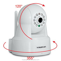 Mustcam H806P New OnVif IP Camera Indoor Wireless Mini Infrared Camera with Audio, WPS, SD Recording, Sound Record