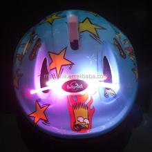 kids bike helmet with led light, led lighting kids bicycle helmet