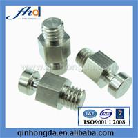 Steel flat head battery terminal bolt/tower bolt/cnc parts