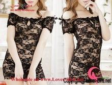 Hot Sexy Women's Lingerie Underwear Sleepwear Lace Dress Babydoll + G-string sexy babydoll lengerie wholesale
