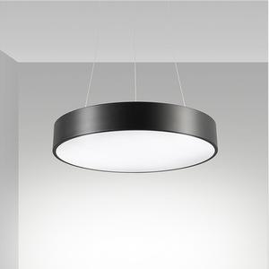 Circular plana lámpara LED redondo lámpara colgante moderna lámpara colgante luz para la oficina en casa restaurante