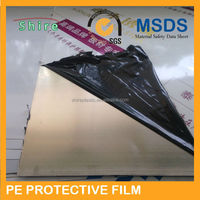 2015 NEW PRICE !black&white surface protective film for stainless steel/black&white protection film for metal surface