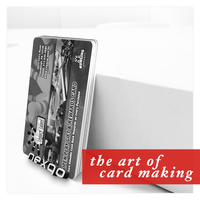 ID card with magnetic stripe