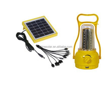 Portable Rechargeable LED Solar Camping Lantern Light SN-SLY618