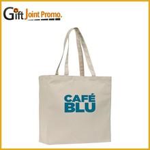 Promotional Nature Cotton Tote Bag, Eco Friendly Reusable Shopping Bag