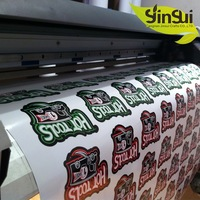 Trustworthy supplier OEM custom vinyl labels stickers for chalk