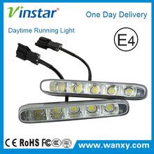 E4 mark super bright auto 12V led daytime running light for all cars