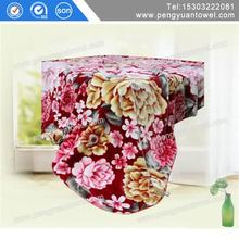 100% polyester warp knitting mink blankets