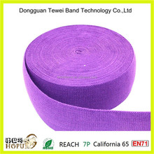 soft satin elastic