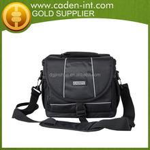 Classic Black Nylon Digital Camera Travel Kit Bag