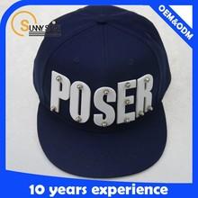 Custom blank snapback cap acrylic cap run dmc snapback cap