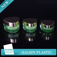 acrylic lotion pump bottles plastic cream container wholesale face cream container