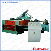 CE certificate hot selling used scrap metal hydraulic compress baler baling machine for sale