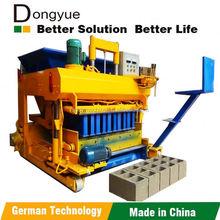 coal dust hydraulic brick machine qtm6-25 dongyue machinery group