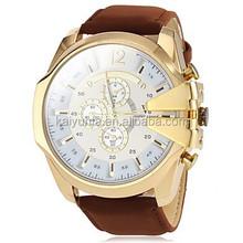 TOP Pilot 3 Dial Design New Men Luxury Sport watch Quartz Wrist Watch Vintage watch
