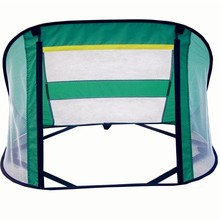 Kids play beach folding mini soccer goal for outdoor excise