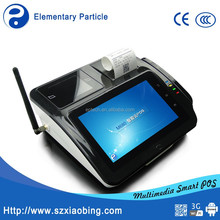 Hot 7 inch All in one Touch Screen Retail Restaurant POS Terminal with built in thermal receipt printer M680