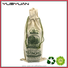 2015 China Manufacture Black Off White Small Fabric Cheap Nylon Mesh Cotton Canvas Bag Drawstring
