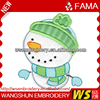 Funny Christmas Gift Woven Patch, Full Emboridery Patches, Towel Label Patches