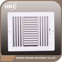 With quality warrantee factory directly dampers ceiling air diffusers