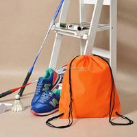 Top Quality Promotional 260D Nylon Waterproof Drawstring Bag