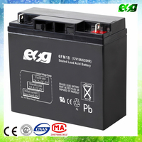 12v18ah Lead acid rechargeable 12v battery for small solar system