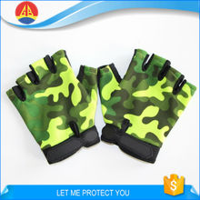 Half Finger Camouflage War Game Airsoft Paintball Shooting Tactical Gloves