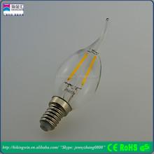 CE,CCC,glass warm white aluminum PCB e27 filament led bulb light housing lighting/decorating use China)