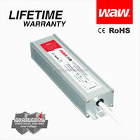 IP68 waterproof LED driver 60W 24V 2.5A BG-60-24 with CE ROHS