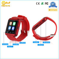 """1.44"""" inch TFT Capacitive Touch Screen bluetooth sport water resistant bluetooth smart u8 watch for Andriod phone"""