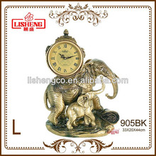 Bronze table clock 905BK