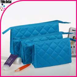 2015 OEM Fashion promotional canvas cosmetic pouch beauty cosmetic bag folding Cosmetic pouch