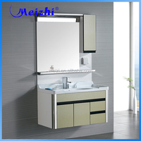 Big size PVC Mrodern 42 inch bathroom vanity