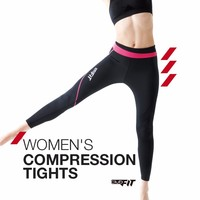 ClubFit Women's Compression Tights Sports Fitness Apparel,Active Wear, Compression Apparel