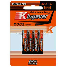 dry cell battery R03 aaa 1 5v battery