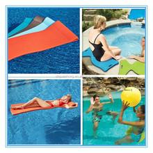 foam water beds for holiday /light weight low density water-proof foam floats