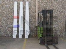 21 Foot Diameter Fiber Glass Wind Generator Blades
