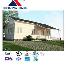 American standard one storey single family prefabricated home MM with solar system