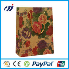 High quality waterproof fashion manufacturer paper bags