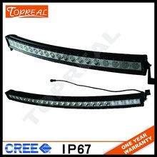 Best Auto Electrical System 4x4 curve led light bar 50 inch