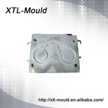 Rubber and silicone handcuffs mold making