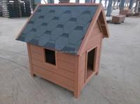 modern wood technology Weather proof Fashion design wpc prefab dog house