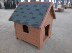 modern wood technology Weather proof Fashion design wpc prefab dog house