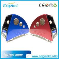 Factory Price for Hottest Selling Easy Vape 5 Vaporizer Dry Herb desktop Vaporizer