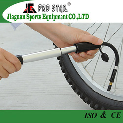 well-designed and compact bicycle gear pump