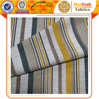 Upholstery stripe chenille polyester fabric sofa fabric patterns