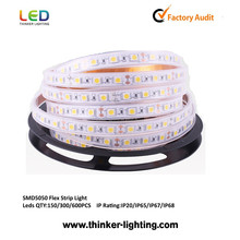 2013 super bright 220v smd 5050 waterproof led strips cut