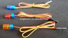 1/10 RC Car Police Flash Bright LED Light 5 Modes 360 Rotation 4.8-6V 9*15mm Red / Blue / Orange - kbl0060